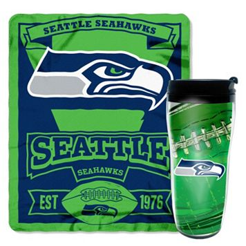 Seattle Seahawks Mug N' Snug Throw & Tumbler Set by Northwest