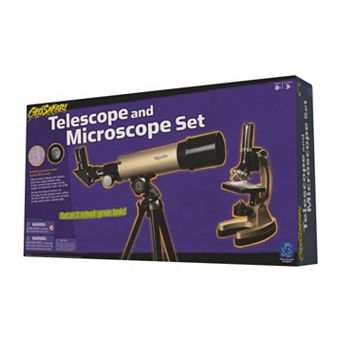 Educational Insights Geosafari Telescope & Microscope Set