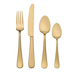 Food Network™ Gold 16-pc. Flatware Set