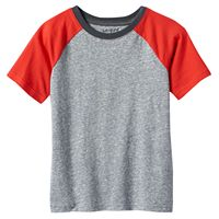 Boys 4-10 Jumping Beans® Colorblock Raglan Short Sleeve Tee