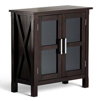 Simpli Home Low Storage Cabinet
