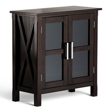 Simpli Home Low Storage Cabinet