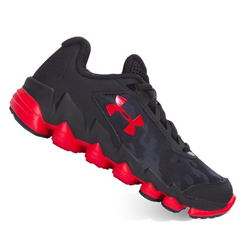 60f14fe3a0e1a Under Armour Spine Disrupt Preschool Boys' Running Shoes