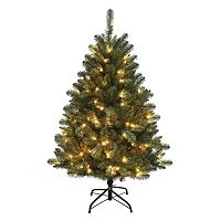 Kurt Adler 4.5-ft. Pre-Lit Northwood Pine Christmas Tree