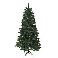 Kurt Adler 4.5-ft. Pre-Lit Green Pine Christmas Tree