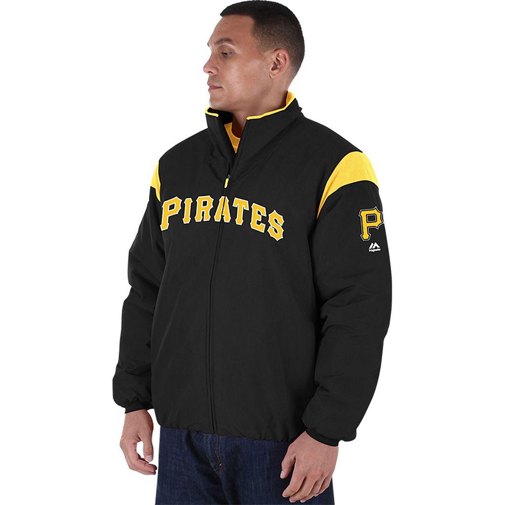 Men's Majestic Pittsburgh Pirates AC Premier Jacket