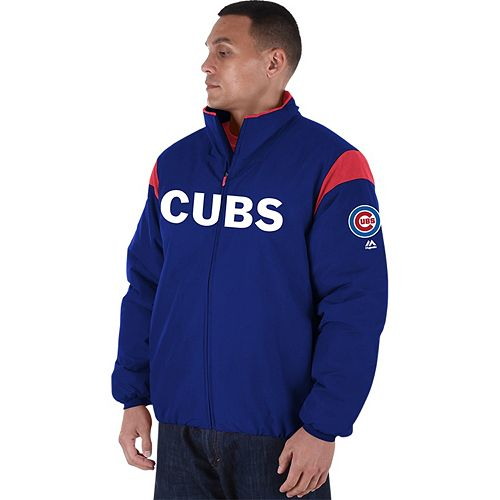 Men's Majestic Chicago Cubs AC Premier Jacket