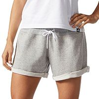 Women's adidas Roll-Up French Terry Shorts