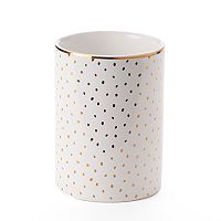LC Lauren Conrad Metallic Dot Tumbler