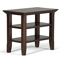 Simpli Home Acadian Narrow End Table
