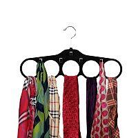 Home Basics 4-pack Velvet Tie Hanger