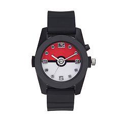 Pokémon Kids' Pokéball Light-Up Watch
