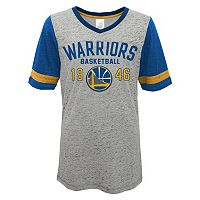 Juniors' Golden State Warriors Burnout Tee