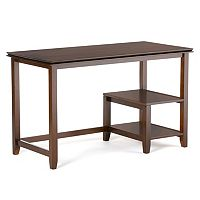 Simpli Home Artisan 2 tier Desk