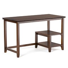 Simpli Home Artisan 2-Tier Desk