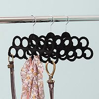 Home Basics 3-pack Velvet Belt & Scarf Hanger