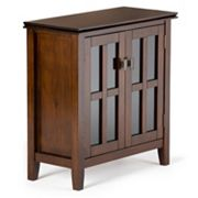 Simpli Home Artisan Low Storage Cabinet