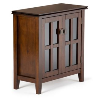 Simpli Home Artisan Low Storage Cabinet