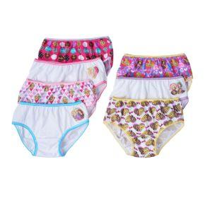 Girls 4-8 Barbie 7-pk. Bikini Panties