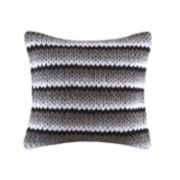 Madison Park Stripe Woven Throw Pillow