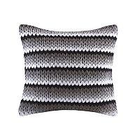 Madison Park Stripe Woven Throw Pillow