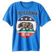 Boys 8-20 California Republic Tee