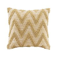 Madison Park Chevron Woven Throw Pillow