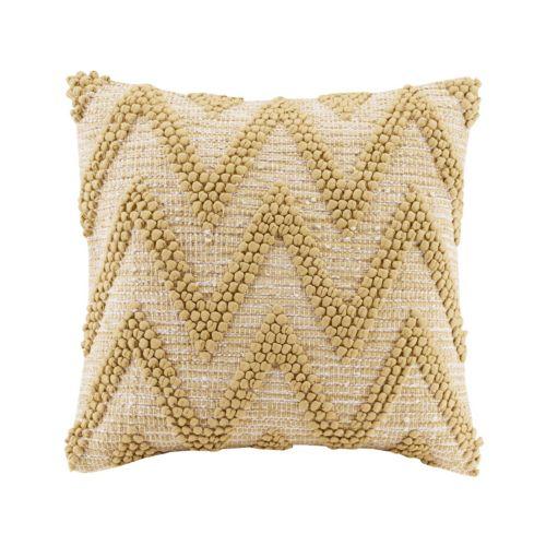 Madison Park Chevron Woven Throw Pillow
