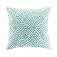 Madison Park Scallop Embroidered Throw Pillow