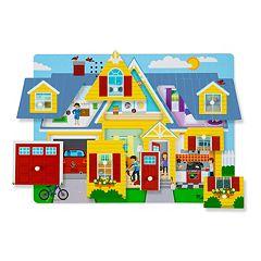melissa doug around the house sound puzzle
