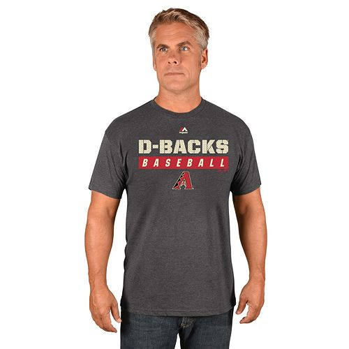 Men's Majestic Arizona Diamondbacks Proven Pastime II Tee
