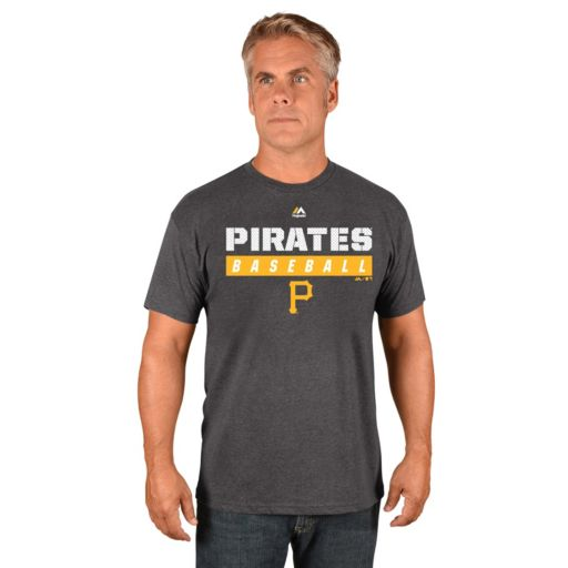 Men's Majestic Pittsburgh Pirates Proven Pastime II Tee