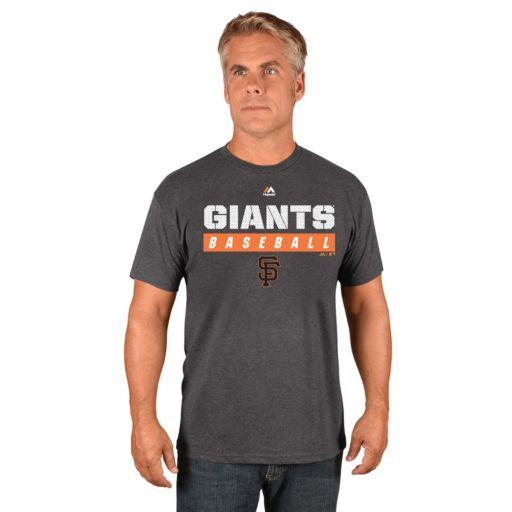 Men's Majestic San Francisco Giants Proven Pastime II Tee