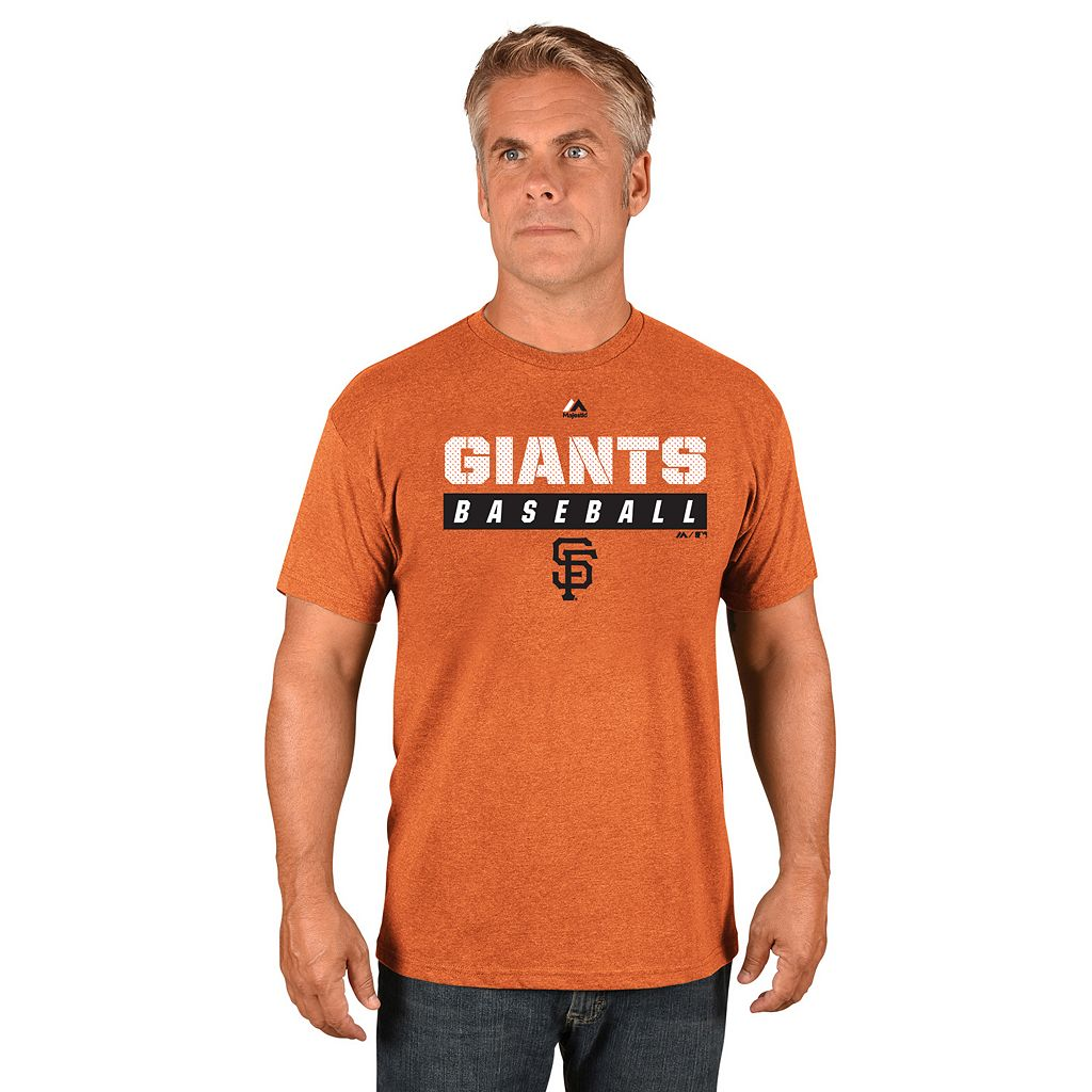 Men's Majestic San Francisco Giants Proven Pastime II Tee