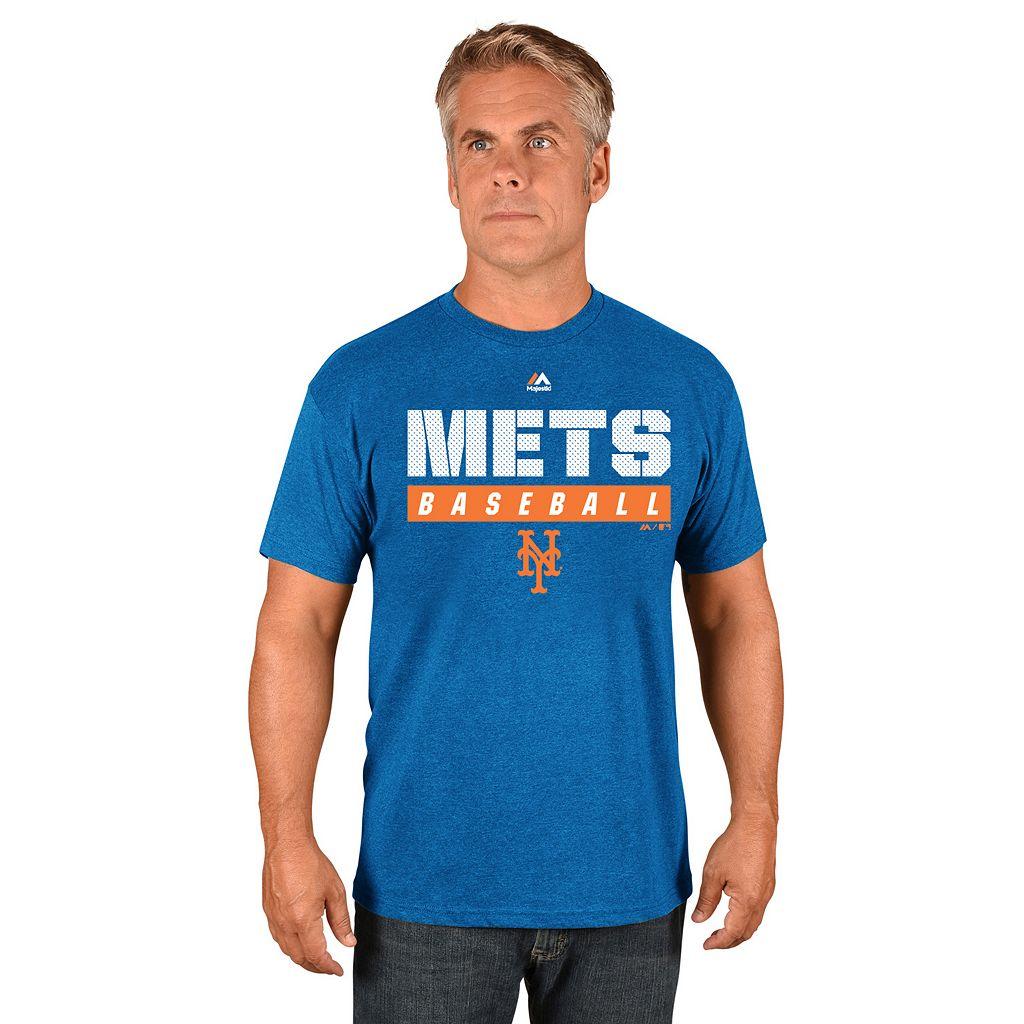 Men's Majestic New York Mets Proven Pastime II Tee