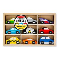 Melissa & Doug Wooden Cars Set