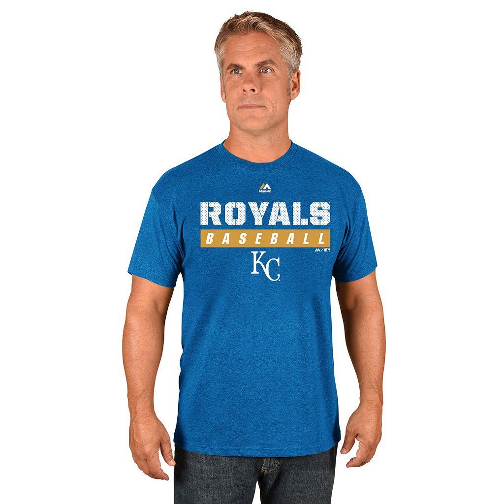 Men's Majestic Kansas City Royals Proven Pastime II Tee