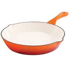 Crock-Pot Enamel Cast-Iron Skillet