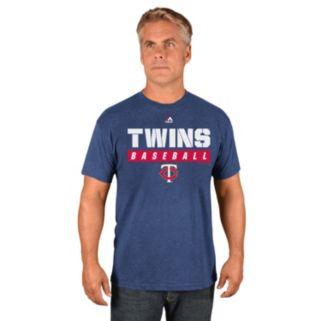 Men's Majestic Minnesota Twins Proven Pastime II Tee