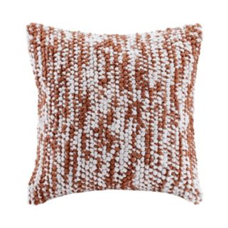 Madison Park Heathered Woven Throw Pillow