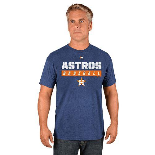 Men's Majestic Houston Astros Proven Pastime II Tee