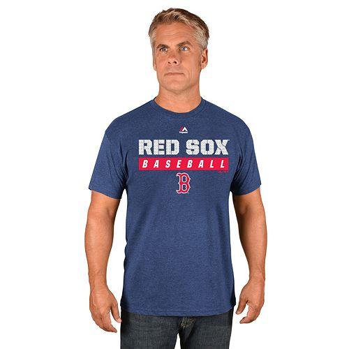 Men's Majestic Boston Red Sox Proven Pastime II Tee