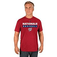 Men's Majestic Washington Nationals Proven Pastime II Tee