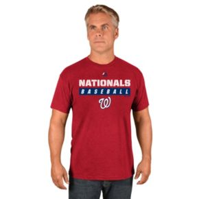 Men's Majestic Washington Nationals Proven Pastime II Tee