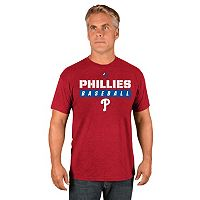 Men's Majestic Philadelphia Phillies Proven Pastime II Tee