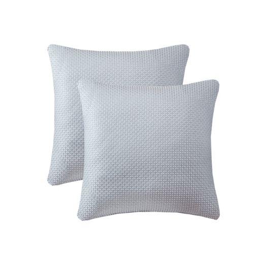 Madison Park Cassie Textured Jacquard 2-piece Throw Pillow Set