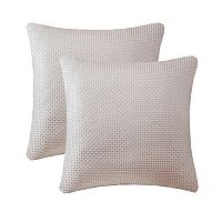 Madison Park Cassie Textured Jacquard 2 pc Throw Pillow Set