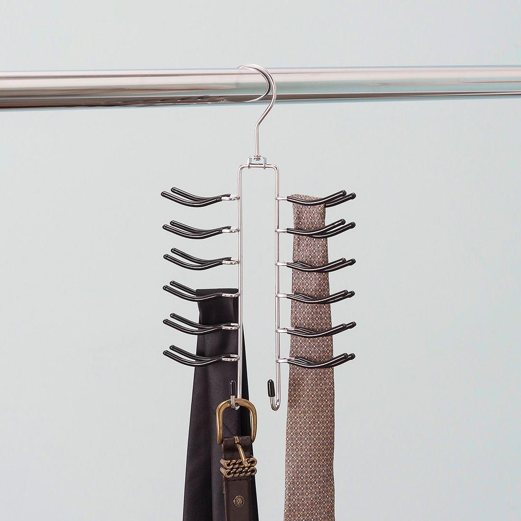 Home Basics Chrome Tie Hanger
