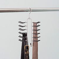 Home Basics Chrome Tie Hanger