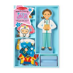 Melissa & Doug Julia Magnetic Dress-Up Career Set